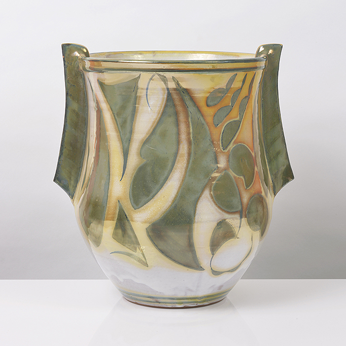 Vase with Fin Handles, 2006