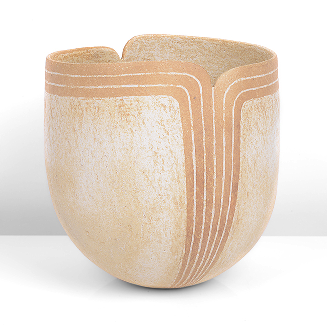 Vessel with Shaped Rim, 2012