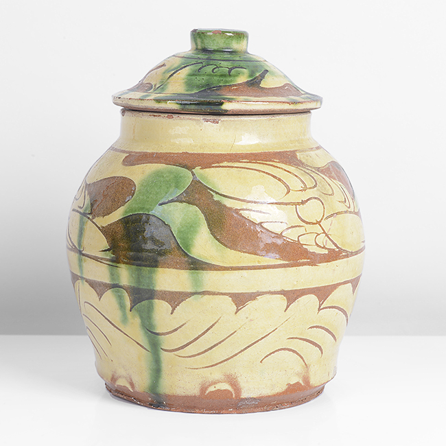 Early Leach Pottery Jar and Cover, circa 1922