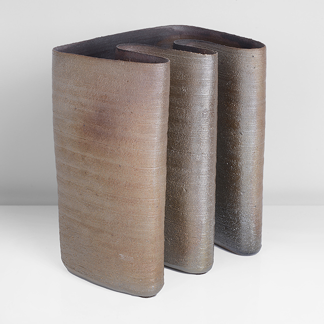 'Pot with Corrugated Front', circa 1972