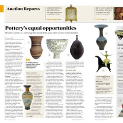 Women potters hit the headlines with World Record prices achieved at Maak