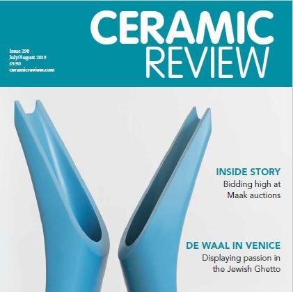 Maak hits the headlines in this month's issue of Ceramic Review